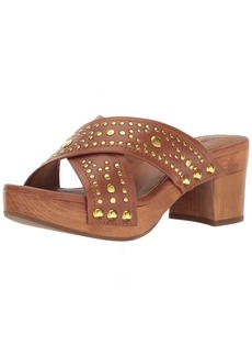 Frye Women's Fiona Deco Slide Platform Sandal   M US