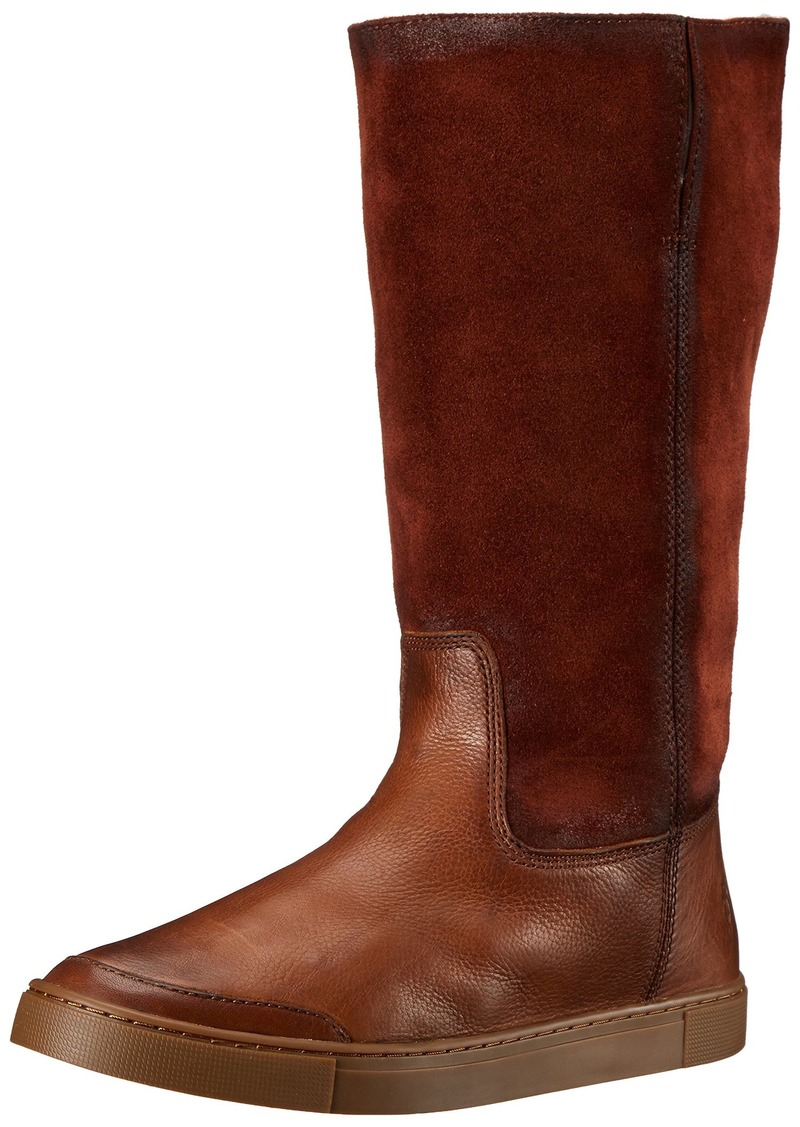 FRYE Women's Gemma Tall Shearlingsvlos Winter Boot  Cognac