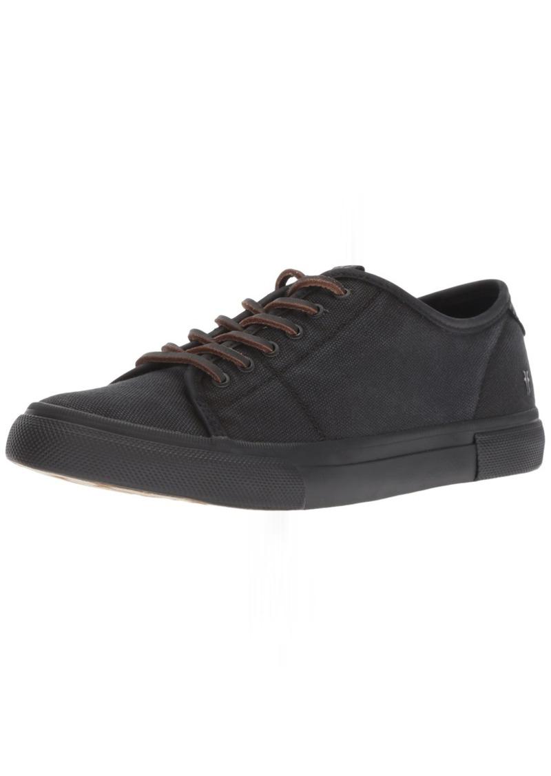 FRYE Women's Gia Low Lace Sneaker   M US