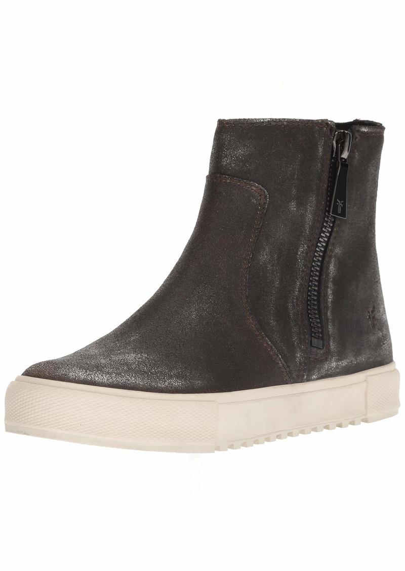 FRYE Women's GIA Lug Zip Bootie Sneaker   M US