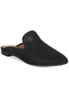 Frye Women's Gwen Perforated Flat Mules Women's Shoes