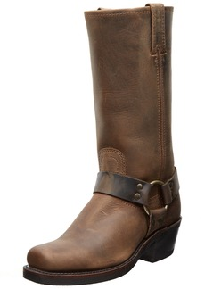 FRYE Women's Harness 12R Boot Tan Crazy Horse  US