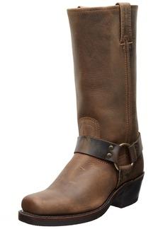 FRYE Women's Harness 12R Boot Tan Crazy Horse  US