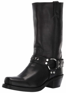 Frye Women's Harness 12R Chain Mid Calf Boot   M US