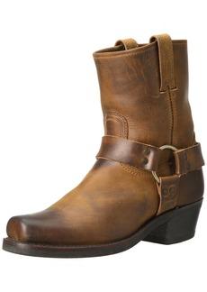 FRYE Women's Harness 8R Boot Dark Brown