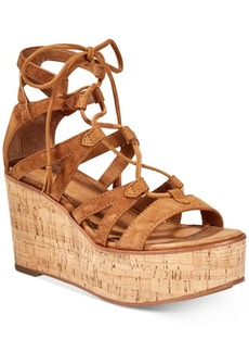 Frye Women's Heather Gladiator Wedge Sandals Women's Shoes