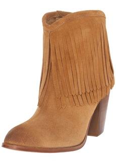 FRYE Women's Ilana Fringe Short Western Boot Sand