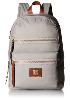 FRYE Women's Ivy Nylon Backpack Light Grey