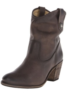 FRYE Women's Jackie Button Short Boot Slate