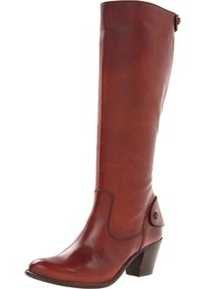 FRYE Women's Jackie Zip Tall Boot Redwood