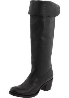 FRYE Women's Jane Tall Cuff Boot Black  M US
