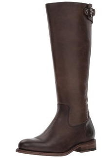 FRYE Women's Jayden Buckle Back Zip Riding Boot   M US