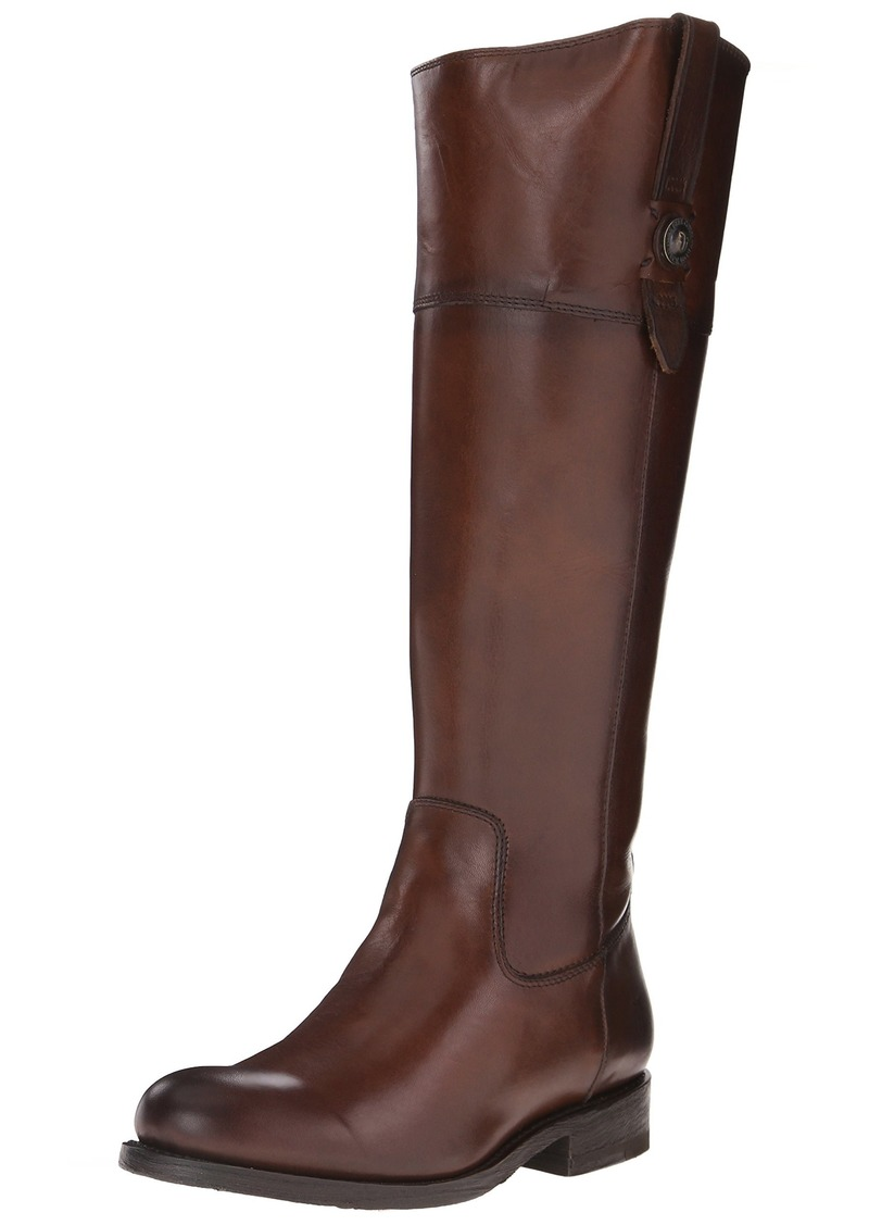 FRYE Women's Jayden Button Tall-SMVLE Riding Boot Redwood  M US