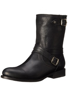 FRYE Women's Jayden Cross Engineer Boot Black  M US