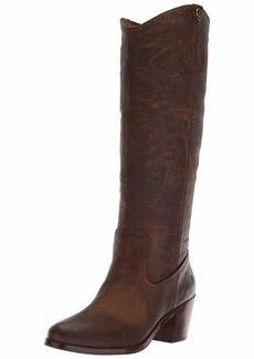 FRYE Women's Jolene Pull On Fashion Boot brown  M US