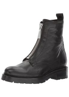 FRYE Women's Julie Front Zip Combat Boot