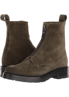 FRYE Women's Julie Front Zip Combat Boot   M US