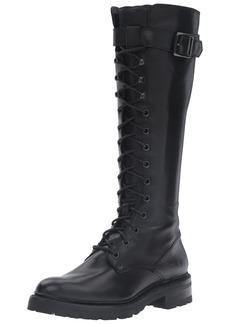 FRYE Women's Julie Lace Tall Combat Boot   M US