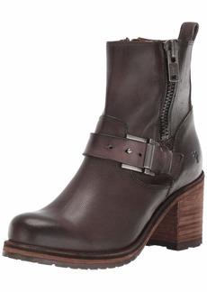 FRYE Women's Karen Moto Zip Ankle Boot   M US