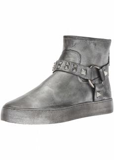 FRYE Women's Lena Harness Deco Bootie Sneaker   M US