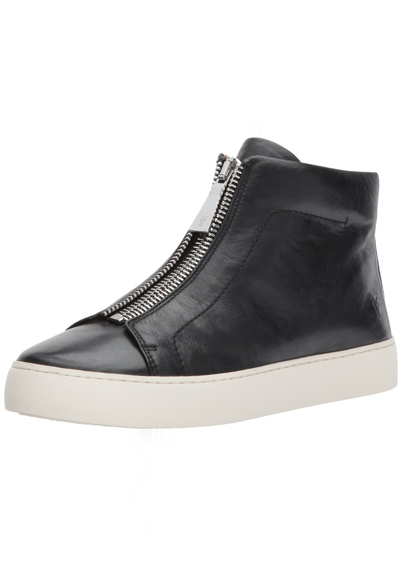 FRYE Women's Lena Zip HIGH Fashion Sneaker   M US