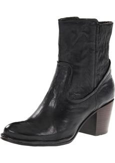 FRYE Women's Lucinda Scrunch Short Boot Black Antique Soft  M US
