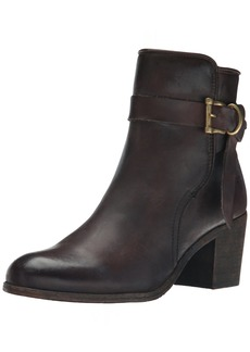 FRYE Women's Malorie Knotted Short Boot  Dark Brown