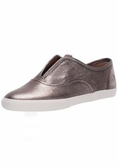 Frye Women's Maya CVO Slip-On Sneaker golden silver  M US