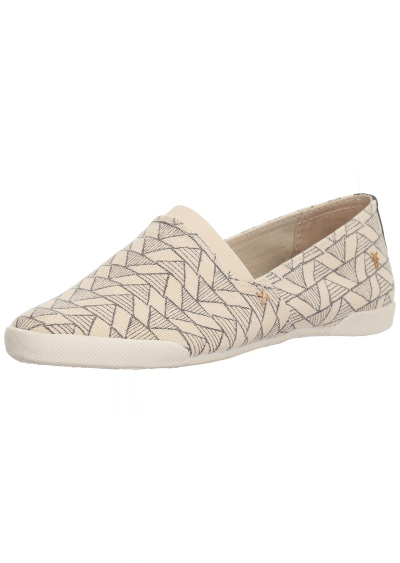 FRYE Women's Melanie Canvas Siip On Sneaker Off   M US