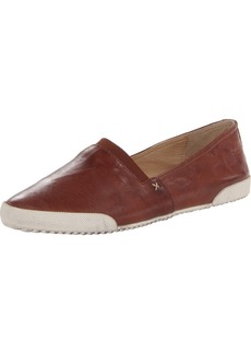 FRYE Women's Melanie Slip-On Fashion Sneaker Cognac