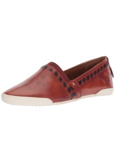 FRYE Women's Melanie Whip Slip ON Sneaker red Clay  M US