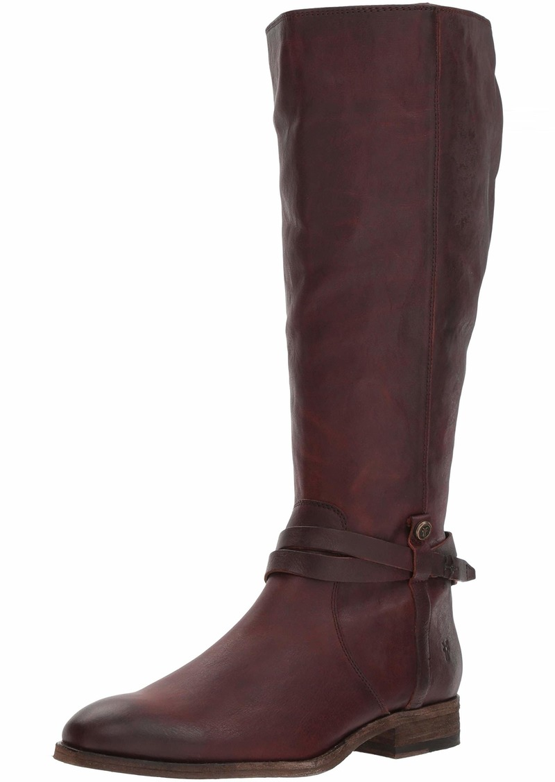 FRYE Women's Melissa Belted Tall Knee High Boot   M US