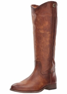 FRYE Women's Melissa Button 2 Equestrian Boot   M US