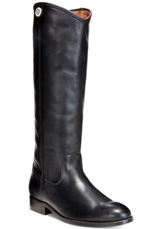 Frye Women's Melissa Button Wide-Calf Tall Boots Women's Shoes