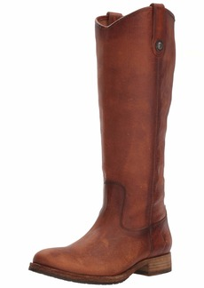 FRYE Women's Melissa Button Lug Tall Boot   M US