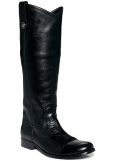 Frye Women's Melissa Button Wide Calf Boots Women's Shoes