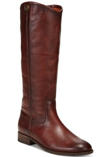 Frye Women's Melissa Button 2 Tall Leather Boots Women's Shoes