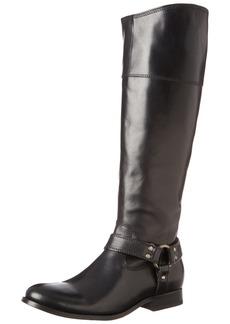 FRYE Women's Melissa Harness Inside Zip Black Soft Vintage Leather Boot 6.5 B - Medium