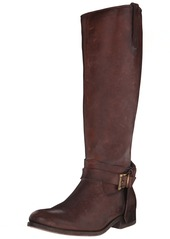 FRYE Women's Melissa Knotted Tall Riding Boot  Redwood