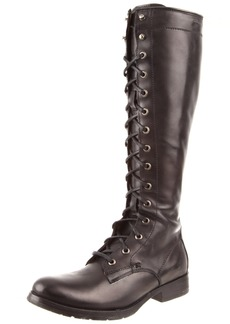 FRYE Women's Melissa Tall Lace Boot Black