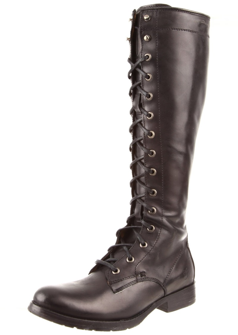 FRYE Women's Melissa Tall Lace Boot Black