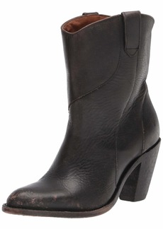 Frye Women's Mustang Seam Short Western Boot