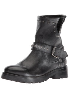 FRYE Women's Natalie Lug Rebel Engineer Ankle Boot