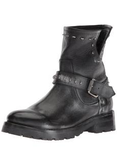 FRYE Women's Natalie Lug Rebel Engineer Ankle Boot   M US