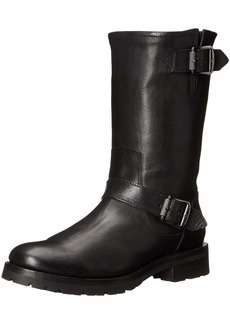 FRYE Women's Natalie Mid Lug Engineer Boot