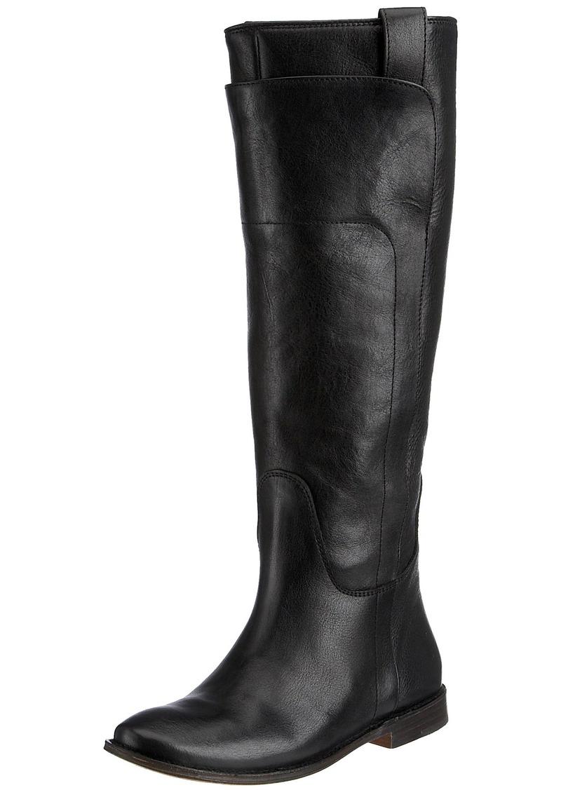 14239451da8 Women's Paige Tall Riding Boot Black Calf Shine