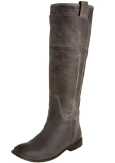 FRYE Women's Paige Tall Riding Boot Grey Burnished Leather
