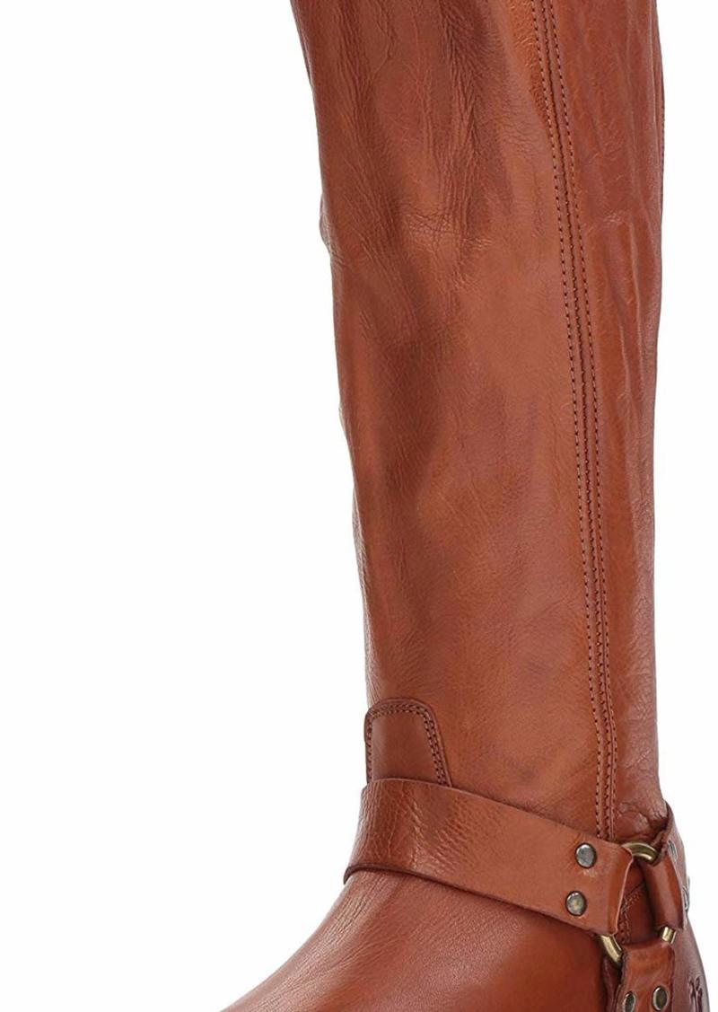 FRYE Women's Phillip Harness Tall Knee High Boot   M US