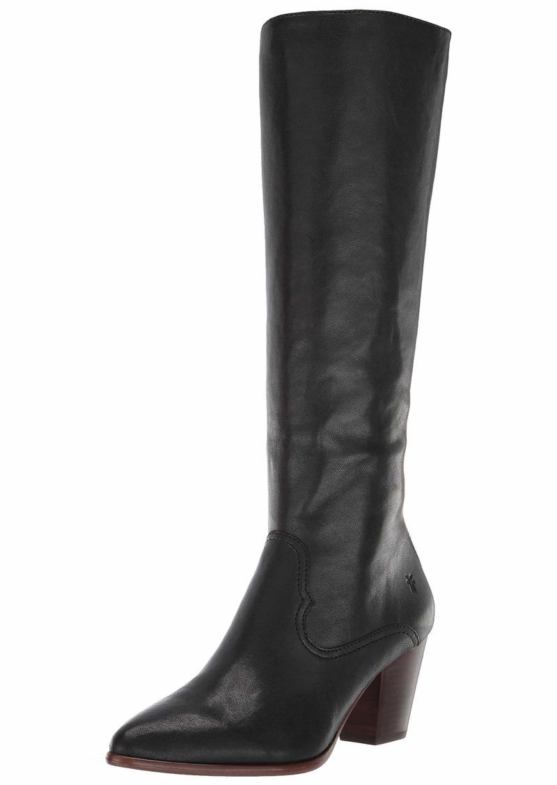 FRYE Women's Reed Inside Zip Tall Knee High Boot   M US
