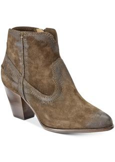 Frye Women's Renee Seam Western Booties Women's Shoes